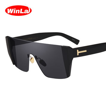 Winla Fashion Lady Sunglasses Women Square Style Sun Glasses for Women Original Brand Designer Glasses Female Goggles UV400