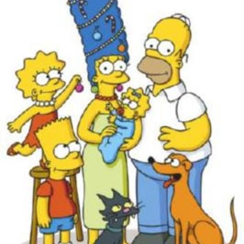 Simpsons Poster 24inx36in