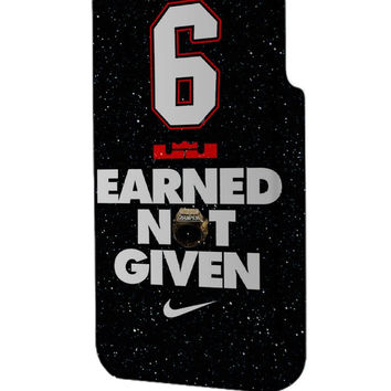 Best 3D Full Wrap Phone Case - Hard (PC) Cover with 6 Earned Not Given Nike Design