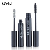 2pcs/lot Professional Eye Lash Serum Waterproof Rimel mascara 3d Eyelash Growth Treatments Black Mascara Fiber NYN Brand Makeup
