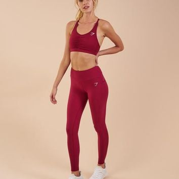 Gymshark Aspire Leggings - Beet