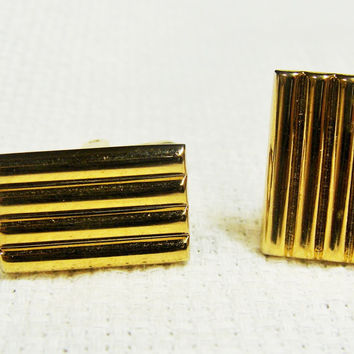 Vintage Hickok Gold Cuff Links