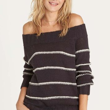 Billabong - Snuggle Down Sweater | Off Black