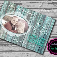 Handmade Wedding Save the Date Rustic Country Barn Wood Shabby Chic Printable Save the Date 5x7 Digital DIY Save the Date Wedding Card no.6