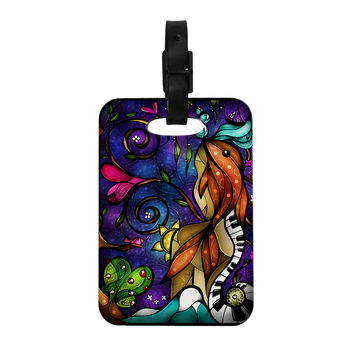 "Mandie Manzano ""Tell Me Stories"" Decorative Luggage Tag"