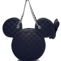 "GERLAN JEANS — GERLAN JEANS X MINNIE MOUSE ""Minnie No.5"" Bag"