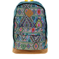 ASOS | ASOS Backpack with Multi Aztec Panel at ASOS