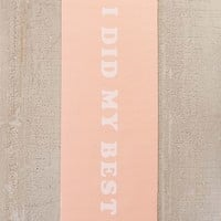 ban.do I Did My Best Yoga Mat | Urban Outfitters