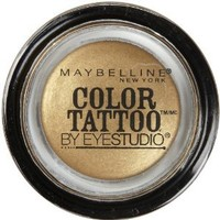 Maybelline 24 Hour Eyeshadow, Bold Gold, 0.14 Ounce