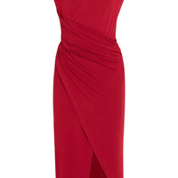 Donna Karan New York - Ruched stretch-jersey dress