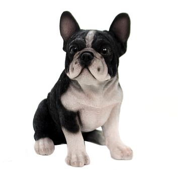 Animal FRENCH BULLDOG PUPPY. Polyresin Mans Best Friend Dog 13073