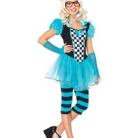 Teen Girls Hipster Alice Costume- Party City
