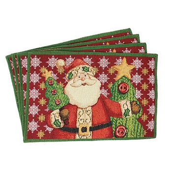 Tache Santa Clause Is Coming to Town Placemat (DB15191PM-1319)