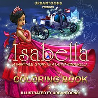 Urbantoons Isabella COLORING BOOKS