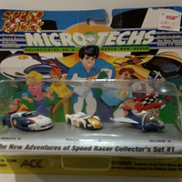 Micro Techs SPEED RACER Vehicles Collectors Set Number One  Vintage Micro Cars Free Shipping
