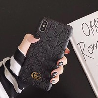 Gucci Creative Cover Case For iphone 6 6s 6plus 6s-plus 7 7plus 8 8plus X XR XS XS MAX