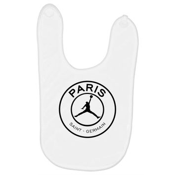 Jordan x Paris Saint-Germain Black Logo Baby Bibs