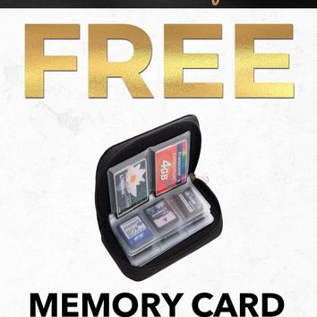 Black Friday 2018 EXSY4 Memory Card Pouch Holding Case Gift With Purchase
