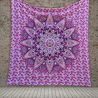 Azelia Magical Thinking Large Hippie Tapestry Mandala Bohemian Bedspread Throw Wall Beach