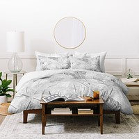 Matt Leyen Feathered Light Duvet Cover