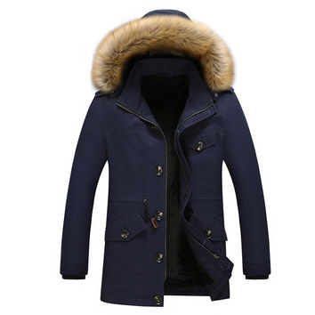 Men Casual Winter Thicken Jacket [8971057475]