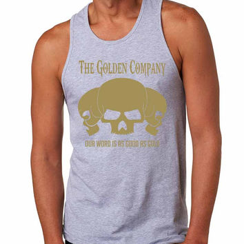 Golden Company Our word is as good as gold men jersey tank top