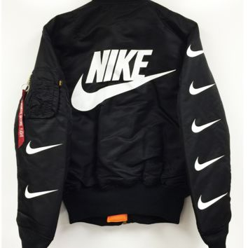86406ed4fd25 Nike MA-1 Bomber Jacket from Pillage