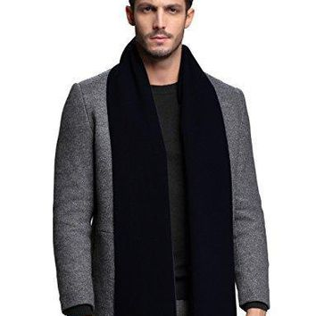 Men Cashmere Scarf Winter Scarves by FULLRON - Long / Warm Wool Scarf for Men