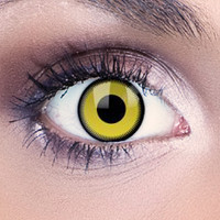 Saw Yellow Contact Lenses