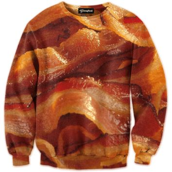 Bacon Strips Crewneck
