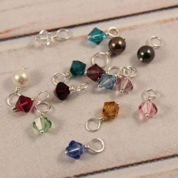 Swarovski Crystal Charm Add-On