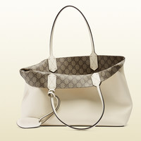 reversible GG leather tote 368568A98109761