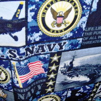 Air Force US Navy Military Fleece Blankets 3 Styles