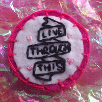 Live Through This Hole Patch
