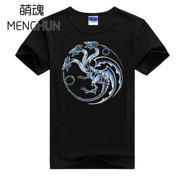 Anime T-Shirt cosplay Yu Gi Oh! T shirts retro card game concept tee shirts Seto Kaiba BLUE EYES ULTIMATE DRAGON t shirts game anime fans t shirts 707 AT_57_4