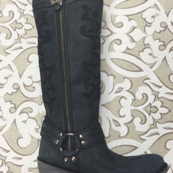 Liberty Black Vintage Negro Boot