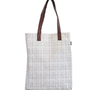 Market Tote - Woven Grey