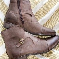 Madge Buckle Rider Bootie