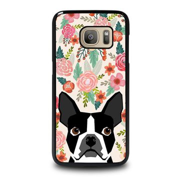 BOSTON TERRIER DOG BREED Samsung Galaxy S7 Case Cover