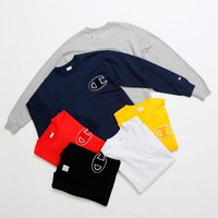 Champion Crew neck Sweatshirt Logo