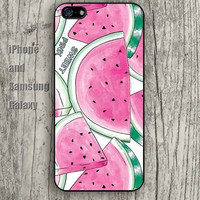 Watermelon Pink colorful iphone 6 case 6 plus iPhone 5 5S 5C case Samsung S3, S4,S5 case, Ipod touch Silicone Rubber Case, Phone cover