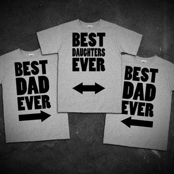 Best Dad And Daughters Fathers Day Gift Shirts