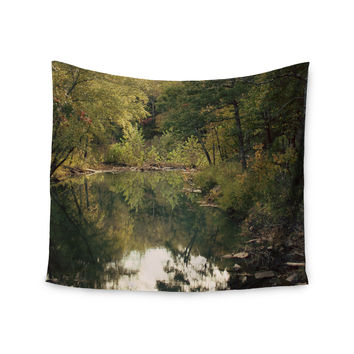 """Sylvia Coomes """"In The Woods 3"""" Brown Photography Wall Tapestry"""