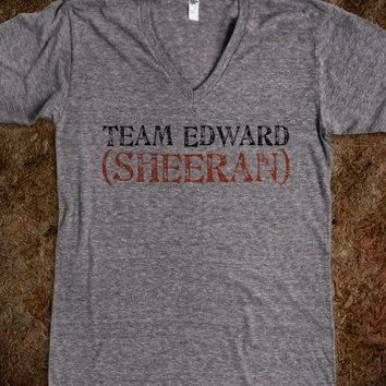 Team Edward (Sheeran) - Fangirl Apparel
