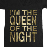 Queen Of The Night (V-Neck) - Tyler Oakley - Official Online Store on District LinesDistrict Lines
