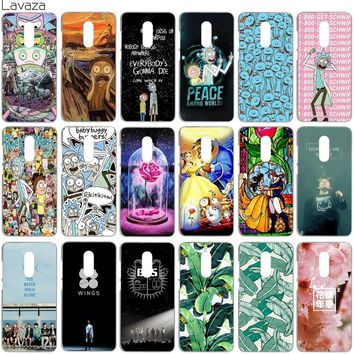 Lavaza Rick and Morty Bts Bangtan Boys Beauty And The Beast Banana Leaves Cover Case for Xiaomi Redmi Note 4 4X