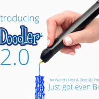 3Doodler 2.0: The World's First 3D Printing Pen, Reinvented