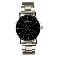 Men Contracted Fashion Watches Steel Band Watches