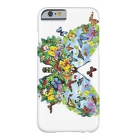 Butterfly Art Barely There iPhone 6 Case