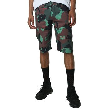 Camo Paid Carpenter Shorts Army